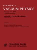 Physical Electronics: Handbook of Vacuum Physics