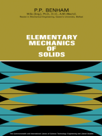 Elementary Mechanics of Solids: The Commonwealth and International Library: Structure and Solid Body Mechanics