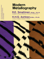 Modern Metallography: The Commonwealth and International Library: Metallurgy Division