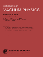 Gases and Vacua