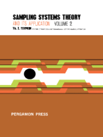 Sampling Systems Theory and Its Application