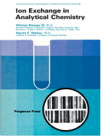 Ion Exchange in Analytical Chemistry