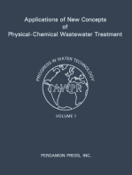 Applications of New Concepts of Physical-Chemical Wastewater Treatment