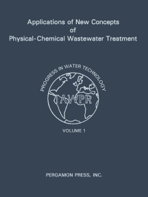 Applications of New Concepts of Physical-Chemical Wastewater Treatment: Vanderbilt University, Nashville, Tennessee September 18-22, 1972