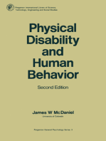 Physical Disability and Human Behavior