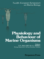 Physiology and Behaviour of Marine Organisms