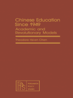 Chinese Education Since 1949