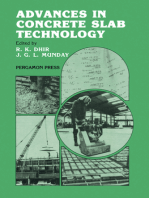 Advances in Concrete Slab Technology: Proceedings of the International Conference on Concrete Slabs Held at Dundee University, 3-6 April 1979