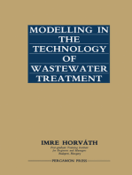 Modelling in the Technology of Wastewater Treatment