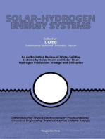 Solar-Hydrogen Energy Systems: An Authoritative Review of Water-Splitting Systems by Solar Beam and Solar Heat: Hydrogen Production, Storage and Utilisation