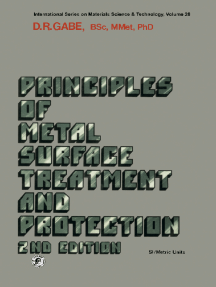 Principles of Metal Surface Treatment and Protection: Pergamon International Library of Science, Technology, Engineering and Social Studies: International Series on Materials Science and Technology