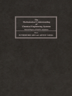 The Mathematical Understanding of Chemical Engineering Systems