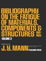 Bibliography on the Fatigue of Materials, Components and Structures: 1961 - 1965