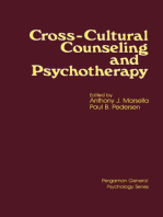 Cross-Cultural Counseling and Psychotherapy: Pergamon General Psychology Series