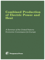 Combined Production of Electric Power and Heat