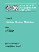 Nutrition, Digestion, Metabolism