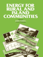 Energy for Rural and Island Communities
