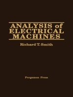 Analysis of Electrical Machines