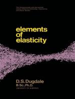 Elements of Elasticity