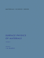 Surface Physics of Materials