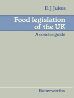Food Legislation of the UK: A Concise Guide
