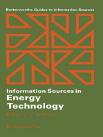 Information Sources in Energy Technology