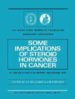 Some Implications of Steroid Hormones in Cancer