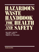 Hazardous Waste Handbook for Health and Safety