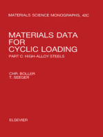 Materials Data for Cyclic Loading