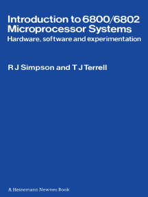 Introduction to 6800/6802 Microprocessor Systems: Hardware, Software and Experimentation