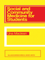 Social and Community Medicine for Students