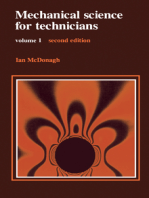 Mechanical Science for Technicians: Volume 1