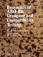 Essentials of ABO -Rh Grouping and Compatibility Testing: Theoretical Aspects and Practical Application