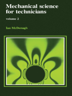 Mechanical Science for Technicians: Volume 2