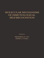 Molecular Mechanisms of Immunological Self-Recognition