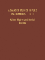 Kähler Metric and Moduli Spaces