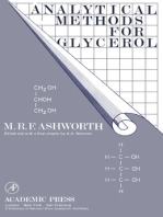 Analytical Methods for Glycerol