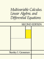 Multivariable Calculus, Linear Algebra, and Differential Equations