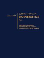 Current Topics in Bioenergetics