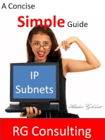 Concise and Simple Guide to IP Subnets
