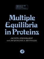 Multiple Equilibria in Proteins