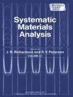 Systematic Materials Analysis
