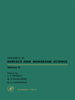 Progress in Surface and Membrane Science