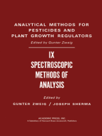Spectroscopic Methods of Analysis