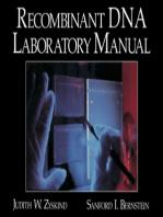 Recombinant DNA Laboratory Manual