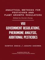 Government Regulations, Pheromone Analysis, Additional Pesticides