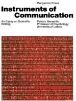 Instruments of Communication