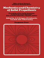 Mechanics and Chemistry of Solid Propellants: Proceedings of the Fourth Symposium on Naval Structural Mechanics, Purdue University, Lafayette, Indiana, April 19-21, 1965