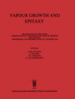 Vapour Growth and Epitaxy