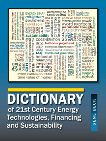 Dictionary of 21st Century Energy Technologies, Financing and Sustainability